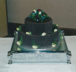 Chocolate Dreams Wedding Cake