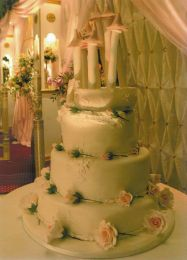Perfection Wedding Cake