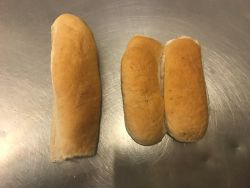 White Finger Roll And Sub