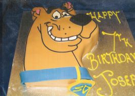 Cartoon Character Cake